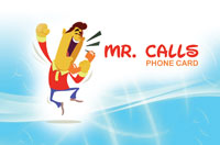 Mr Calls Phone Card
